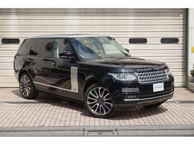 Photo of LAND_ROVER RANGE ROVER AUTOBIOGRAPHY BLACK LONG WHEELBASE / used LAND_ROVER