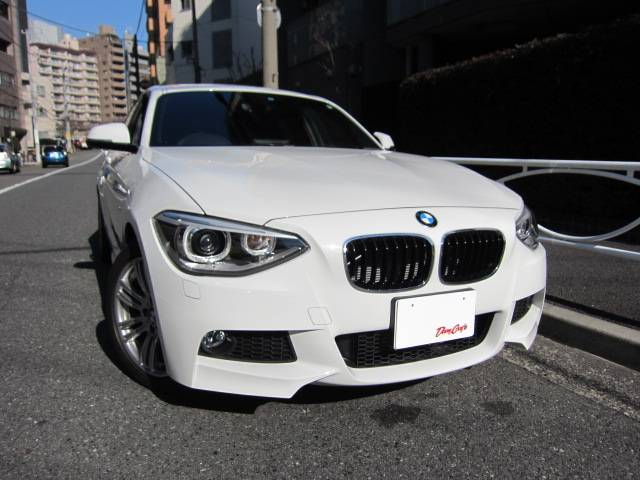 BMW 116i Mスポーツ 純正i-Driveナビ