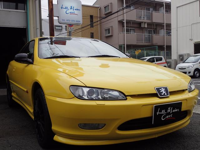 Peugeot 406 Coupe 1999 Yellow 90000 Km Details Japanese