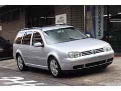 VW ゴルフワゴンGLiプレミアムパッケージ|本革シート・新品サス・タイヤ!