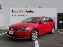 VW ゴルフヴァリアントTSIハイライン VW純正ナビゲーション