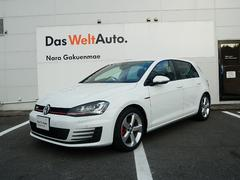 VW ゴルフGTIVW純正ナビゲーション