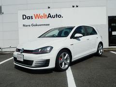 VW ゴルフGTIVW純正ナビゲーション ブラインドスポット 後方支援付