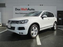 VW トゥアレグハイブリッドVW純正ナビ ETCバックカメラ ブラックレザー