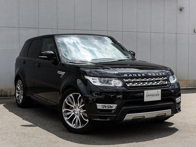 Land Rover Range Sport Autobiography Dynamic 2017 Black 10 000 Km Details Anese Used Cars Goo Net Exchange