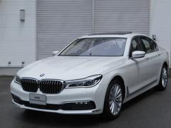 BMW740iデモカー19インチAWベージュ革レーザーライトPDC