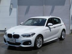 BMW118iMスポーツPサポHDDナビETCデモカーLEDライト