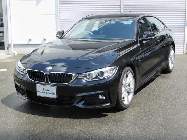 BMW 420iグランクーペMスポーツ黒革シートヒーター弊社デモカー