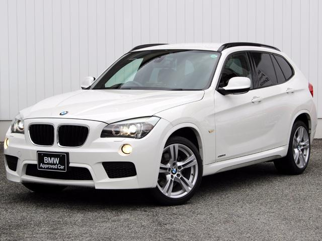 BMW X1 sDrive 18i Mスポーツ 社外HDDナビ 認...