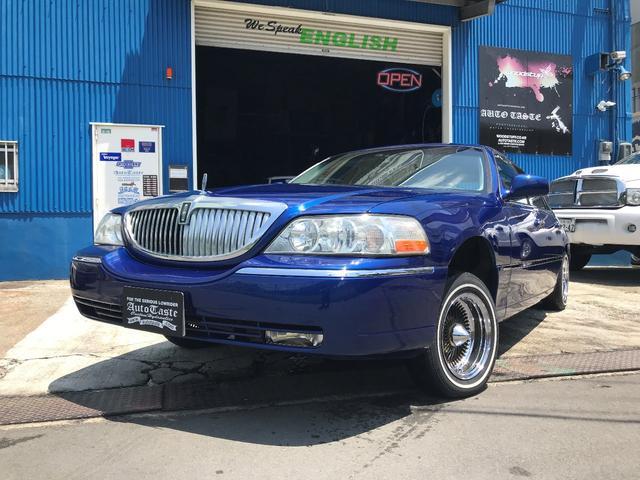 Lincoln Lincoln Towncar Signature 2001 Blue M 107 000 Km