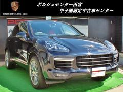 ポルシェ カイエンターボ 新車保証継承 1オーナー スポーツクロノパッケージ