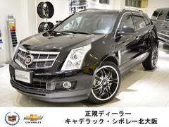 キャデラック SRXクロスオーバーラグジュアリー GM正規D車 純正HDDナビ 黒レザー