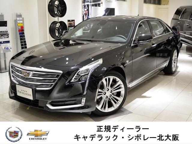 キャデラック プラチナム GM正規D車 純正ナビ地デジ SR 2017y