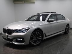 BMW740LiMスポーツ禁煙車LEDライトコンフォートシートSR