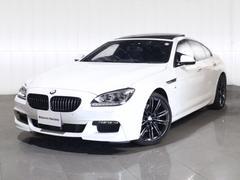 BMW640iグランクーペ特別仕様車LED20AW黒革サンルーフ