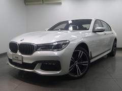 BMW750iMスポーツLEDヘッドライトブラウンレザーHDDナビ