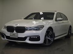 BMW740i Mスポーツ元デモカーリモートパーキングOP20AW