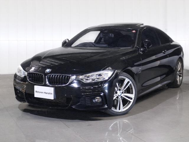 BMW 4シリーズ 428iクーペ Mスポーツ黒レザーサンルーフL...