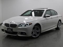BMWアクティブハイブリッド5MスポーツLEDヘッドライト黒革SR