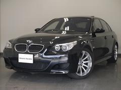 BMWM5V10EG黒革SR1オーナーHDDナビPDC