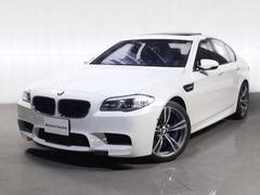 BMWM5サンルーフ黒革OP20AWリアシートヒーターバックカメラ