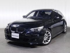 BMW525i Mスポーツ黒レザサンルーフHDDナビシートヒ−ター