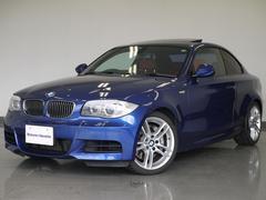 BMW135i6速MT赤革サンルーフHDDナビPDCバックカメラ