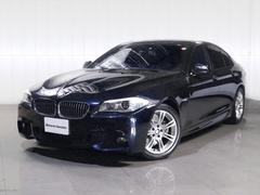 BMW523dMスポーツ電動シートメモリ−付1オナHDDナビ地デジ