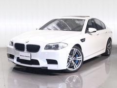 BMWM5ワンオーナーOPアルミサンルーフパドルシフト黒レザー