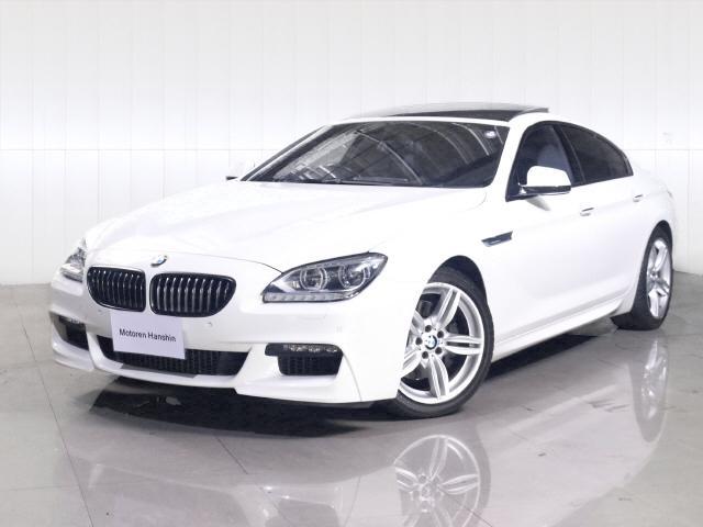 BMW 640iグランクーペ MスポーツPK ワンオーナーSR 黒革