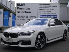 BMW740eMスポーツPHEV20AW黒レザ−ガラスサンル−フ