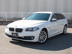 BMW523iツーリング ラグジュアリー認定保証黒革ACC1オーナ