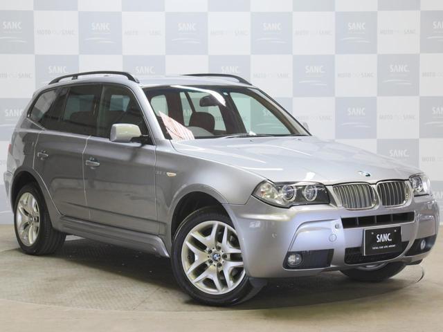BMW X3 3.0si MスポーツPkgI 茶革 サンルーフ B...