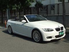 BMW335iカブリオレ MスポーツPKG 黒革 HDDナビ