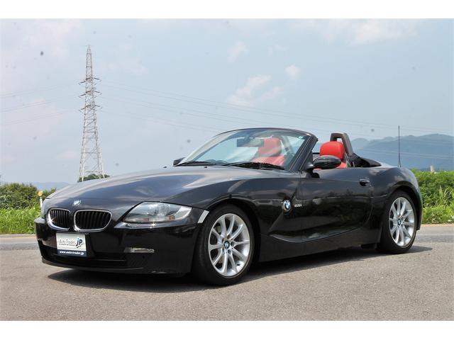 BMW ロードスター2.5i 電動オープン 赤革 記録簿 屋内保管車