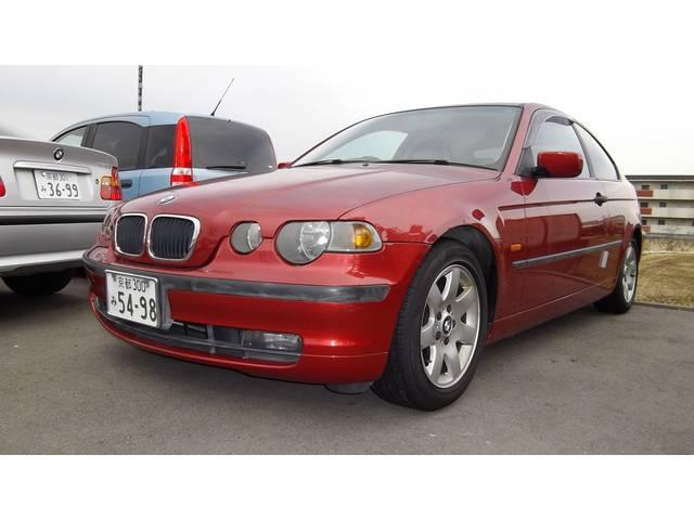 BMW 3シリーズ 318ti サンルーフ ハーフレザー (検27.5)