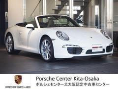 ポルシェ2014モデル 911カレラカブリオレ 新車保証継承