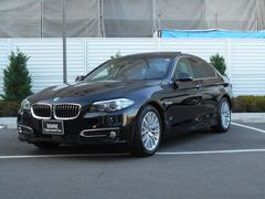 BMW523d ラグジュアリー ガラスサンルーフ ワンオーナー車