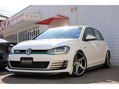 VW ゴルフGTIUSモデル 左ハンドルGTI ALPILエアロ 車高調・AW