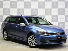 VW ゴルフヴァリアントTSIハイライン禁煙 フルセグTVナビBカメラ メーカー保証