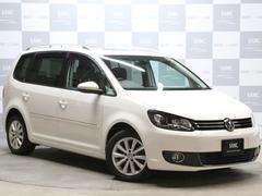 VW ゴルフトゥーランTSIハイライン 禁煙車 革シート フルセグナビ サンルーフ