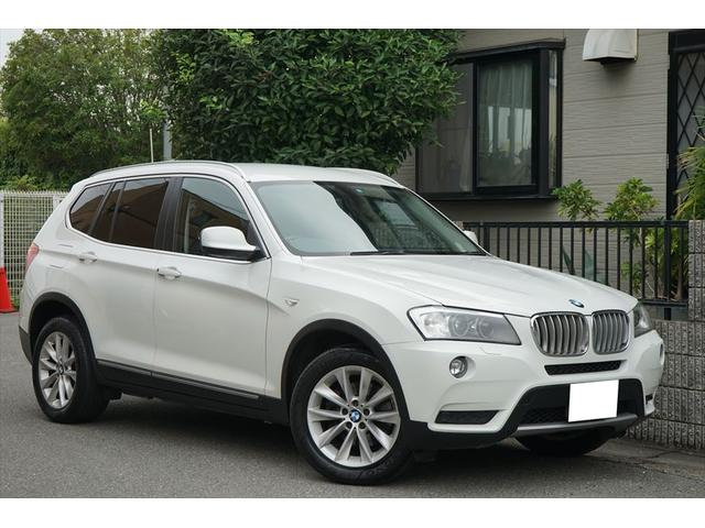 BMW X3 xDrive 28i ハイラインパッケージ 黒革 純...