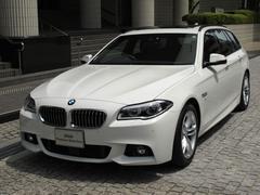 BMW523iツーリング Mスポーツ 弊社デモカー レザーシート