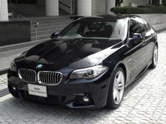 BMW523i Mスポーツ 弊社デモカー サンルーフ 19インチ