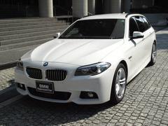 BMW523dツーリング Mスポーツ ワンオーナー 弊社下取り車