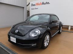 VW ザ・ビートルデザインレザーパッケージ SDナビ 地デジ ETC