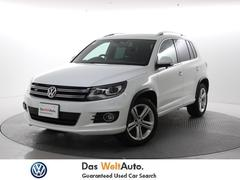 VW ティグアンBM R−linepkg ワンオーナー ナビ ETC 保証書
