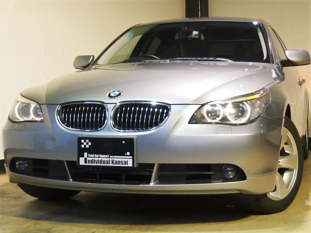 BMW 525iハイラインPKG 後期EG 禁煙 HDDナビ 鑑定車