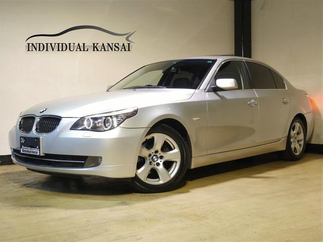 BMW 5シリーズ 525iハイラインPKG最終型 本革 HDDナ...