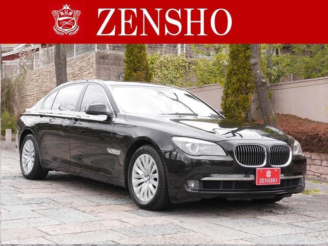 BMW 7シリーズ 750Li ワンオーナー 黒革 サンルーフ 純...